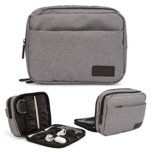 Electronic Accessories Organizer,Travel Cable Cord Storage Bag for Power Bank, Mouse, Data Cable, Headphone Cable, USB Cable