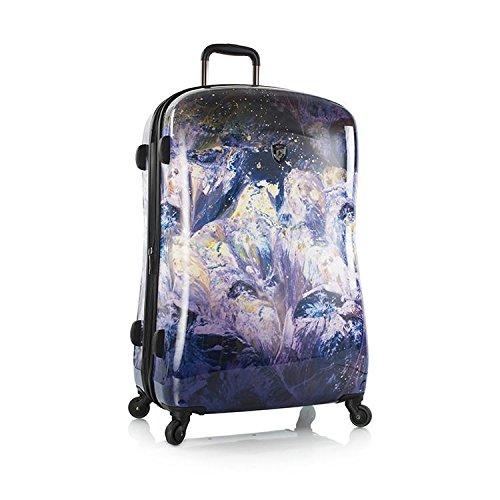 Heys Luggage Purple Amethyst 30 Inch Spinner Suitcase