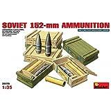 MiniArt Models 1/35 Soviet 152 mm Ammunition with Ammo Crates (japan import)