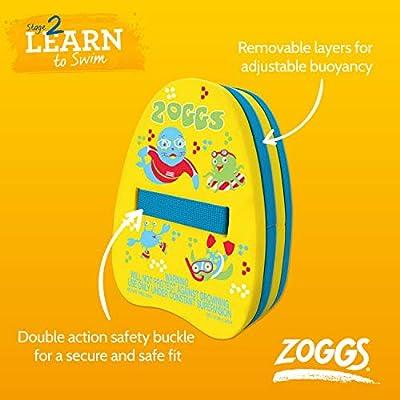 Zoggs Junior Standard Swimming Swim Kickboard Float Aid Yellow Kick Board RRP£16