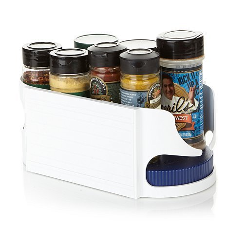 Roto-Caddy Rotating Swivel Organizer -- Stackable Lazy Susan for Pantry Organization and Storage, Small ()