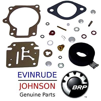 Johnson Evinrude Outboard Engine 396701 Premium Carburetor Repair Kit BRP# 777717