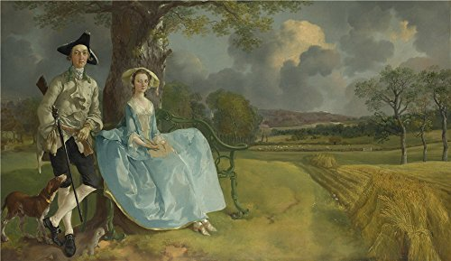 the-perfect-effect-canvas-of-oil-painting-thomas-gainsborough-mr-and-mrs-andrews-size-20-x-35-inch-5