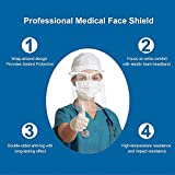 Face Shields Set with 12 Replaceable Anti Fog
