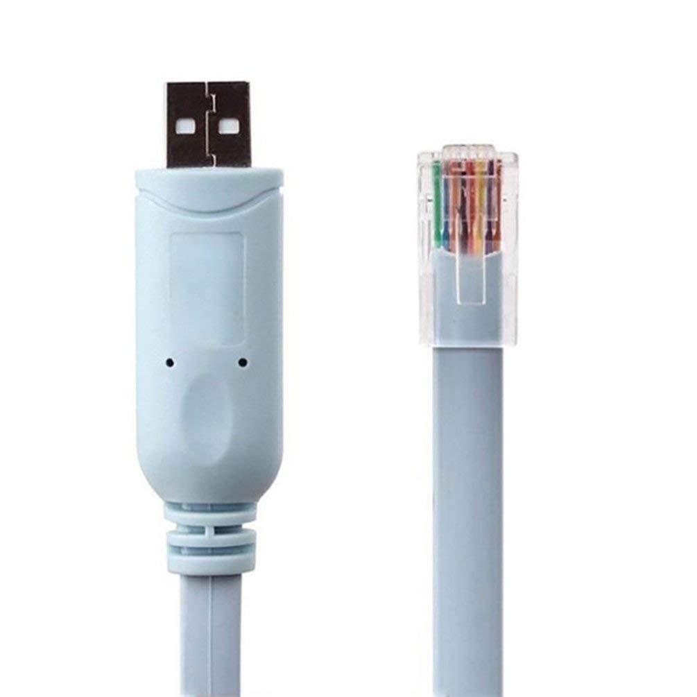 TAOHOU 1.8 Metros de PVC Duradero USB a RJ45 Cable Adecuado para ...