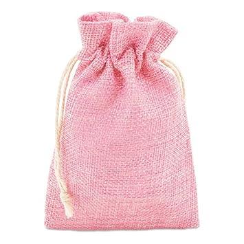 Lote de 50 Bolsas de Regalo de Poliester Rosa- Bolsas Baby ...