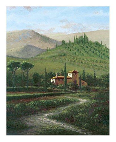 (Global Gallery Sambataro Villa at Stia-Giclee on Paper Print-Unframed-20 x 16 in Image Size, 20
