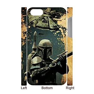 TOSOUL Diy hard Case Star Wars Soldier customized 3D case For Iphone 4/4s