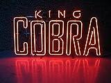 king cobra beer - King cobra Metal Frame Neon Sign 24