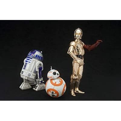 Kotobukiya Star Wars Episode 7 The Force Awakens C-3PO & R2-D2 with BB-8 ArtFX+ Statue: Kotobukiya, © & ™ Lucasfilm Ltd.: Toys & Games