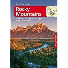 Rocky-Mountains - VISTA POINT Reiseführer Reisen Tag für Tag: Colorado, Idaho, Montana, Nebraska, South Dakota, Utah, Wyoming (Mit E-Magazin)