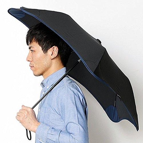 ブラント(BLUNT) 【空気力学による風に強い構造6色展開】ユニセックス折りたたみ傘(メンズ/レディース雨傘) B071JZT7HF 51|15ブラック 15ブラック 51
