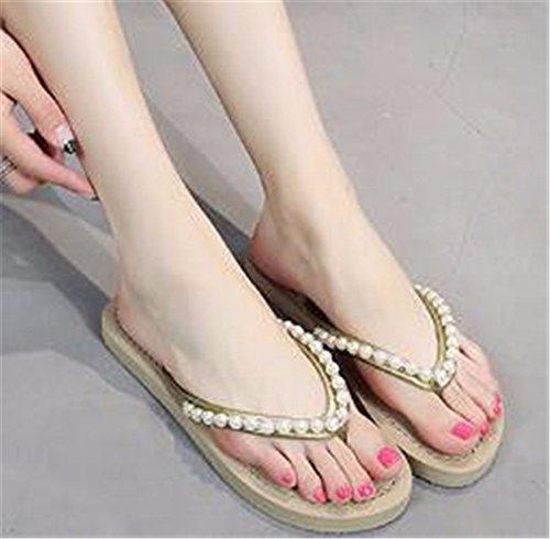 libre patin Beige al verano fondo de Señora con plano de zapatillas aire GAOQIANGFENG 8xw71q6W
