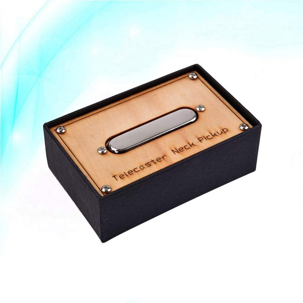 Milisten Pastilla Del Mástil Telecaster Pastilla de Guitarra Cromo para Guardabarros Strat Piezas de Guitarra Eléctrica Reemplazo de Pastilla Humbucker: Amazon.es: Instrumentos musicales