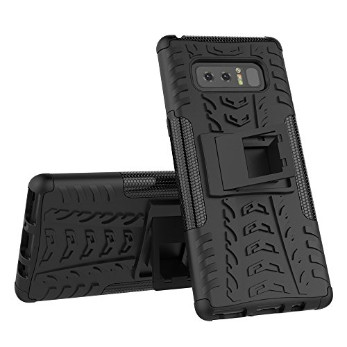 AOKER Galaxy Note 8 Case, Kickstand] [New] [Fashion] [Shockproof] [Impact Protection] Heavy Duty Dual Layer Hybrid Defender Protective Case with Kickstand Cover for Samsung Galaxy Note 8