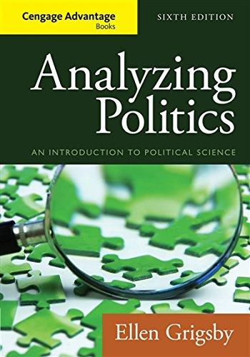 Cengage Advantage Books: Analyzing Politics