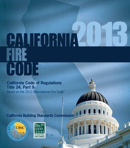 2013 California Fire Code, Title 24 Part 9 -  International Code Council, Loose-leaf
