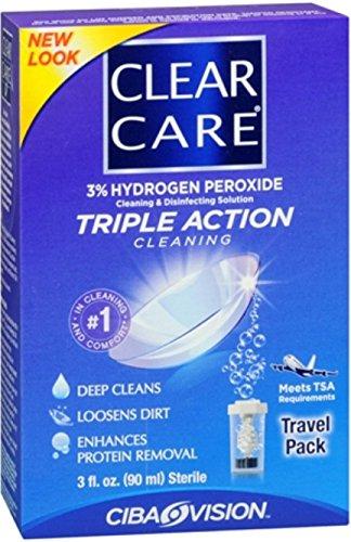 Ciba Clear Care Travel Sz Size 3z Ciba Clear Care Travel Sz 3z by Clear Care