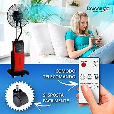 VENTILADOR Digital Dardaruga WFD NEBULIZADOR (tanque XXL de 3.10 ...