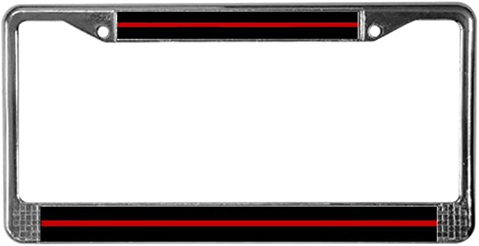 CafePress Evil Eye Protection Chrome License Plate Frame License Tag Holder