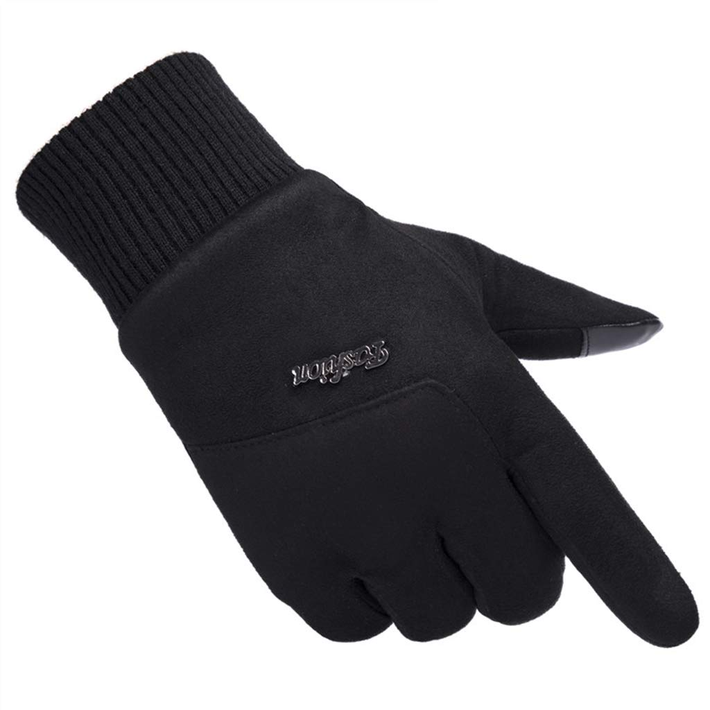 DSADDSD Handschuhe für Männer im Winter, windundurchlässige warme Touch Screen Reithandschuhe, laufende Handschuhe im Freien laufend