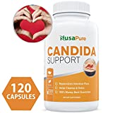 Candida Cleanse (NON-GMO) 120 Capsules: Double the Competition – Powerful Yeast Infection Treatment with Caprylic Acid, Oregano Oil & Probiotics to Clear Candida while Preventing Reoccurrence For Sale