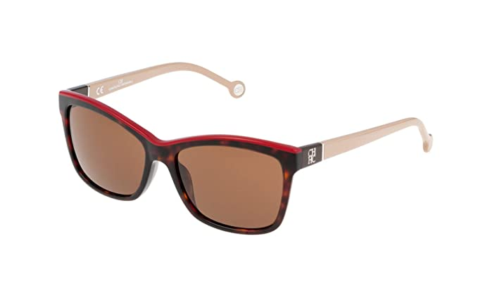 Carolina Herrera SHE598550743 Gafas de Sol, Marrón, 55 para Mujer