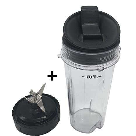 Astounding 1 Set Replacement Parts For Nutri Ninja Ultima Kitchen System Bl810 Bl820 Bl830 Bottom Blade Assembly With Cup Lid For Nutri Ninja Blender Home Interior And Landscaping Mentranervesignezvosmurscom