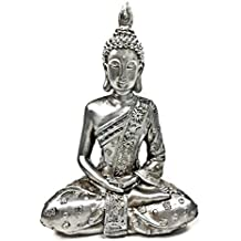 "bombayjewel Thai Buddha Meditating Peace Harmony Statue, 8""H"