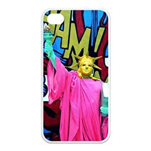 Custom Statue of Liberty Design Rubber TPU Case Cover For Iphone 4 4S