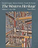 The Western Heritage, 1300-1815, Kagan, Donald M. and Ozment, Steven, 002363250X