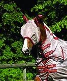 Horseware Rambo Plus Fly Mask Pony Silver