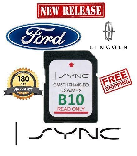 Ford Lincoln B10 SYNC SD Card Navigation 2019 US/Mexico Map Updates B9 B8 by TB21