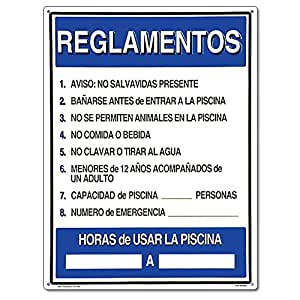 Poolmaster 40384 spanish language reglamentos - Residential swimming pool regulations ...