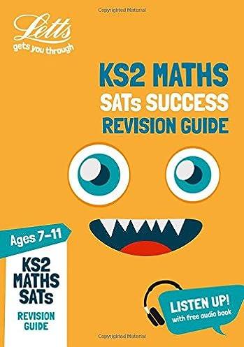 ks2 maths sats revision guide 2019 tests letts ks2 revision rh amazon co uk