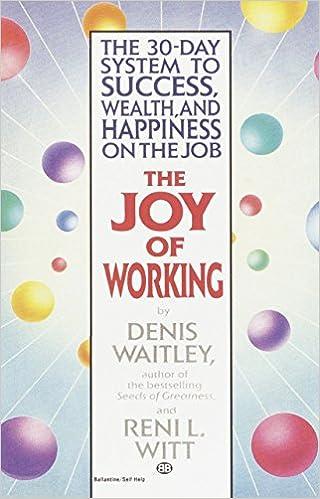 joy of working