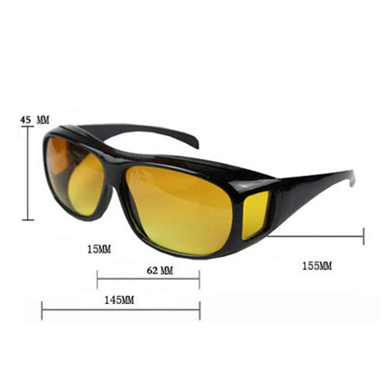 anyilon Night Vision Sunglasses Night Sight HD Driving Glasses Anti-Glare UV400 Protection Night Eyewear for Driver
