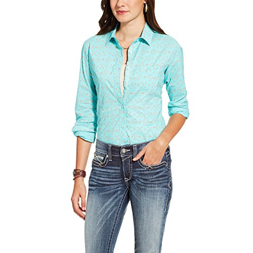 Ariat Women S Kirby Fitted Button Down Shirt Gg 39 S Shops