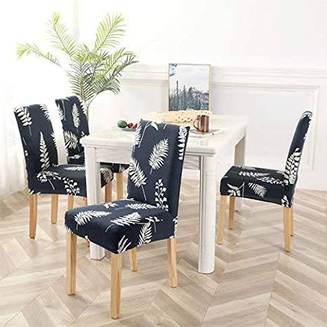 Fabulous Amazon Com Yizitao Elastic Dining Chair Covers Fur Pattern Andrewgaddart Wooden Chair Designs For Living Room Andrewgaddartcom