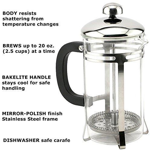 JointFeat French Press Coffee and Tea Maker 20 Oz  Proper Co