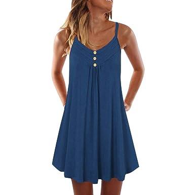 LANSKIRT Mini Vestido de Verano Elegantes Mujer Vestido de Fiesta ...