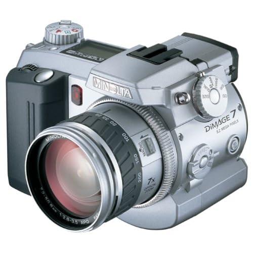 Minolta Dimage 7 5MP Digital Camera w/7x Optical Zoom