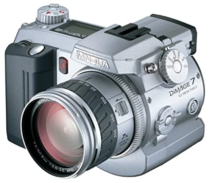 amazon com minolta dimage 7 5mp digital camera w 7x optical zoom rh amazon com Minolta Raw Minolta DiMAGE A1