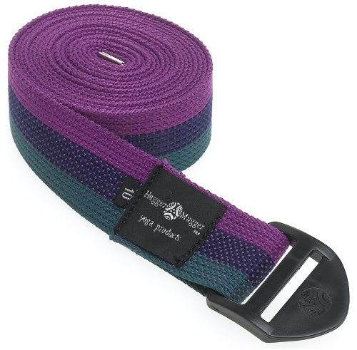 Hugger Mugger Cinch Yoga Strap 10-Foot (Multi)