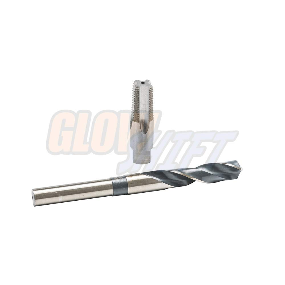GlowShift 3//8-18 NPT Drill and Tap Kit