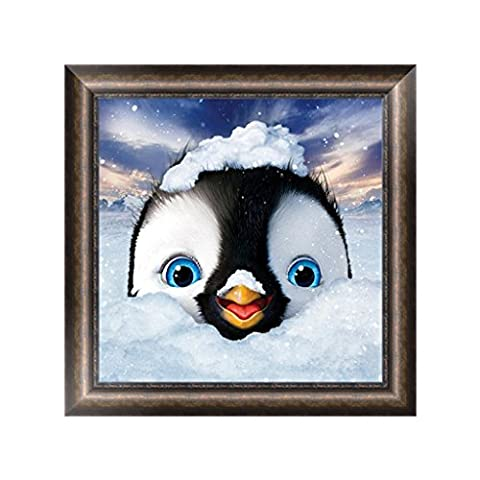 BCHZ Cute Penguin 5D Diamond Painting Animals Embroidery Painting Cross Stitch DIY Craft Home Decor - Penguin Squares