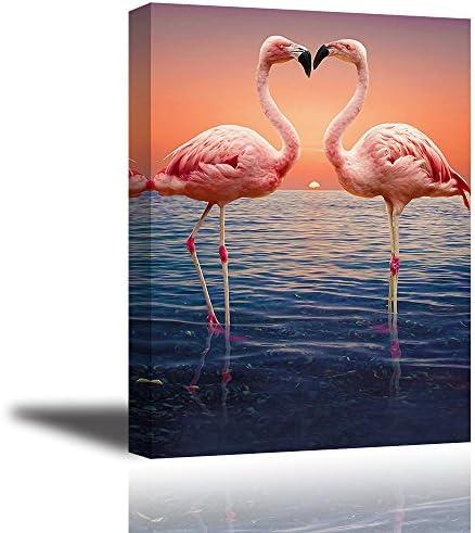 Pink Flamingo Wall Art
