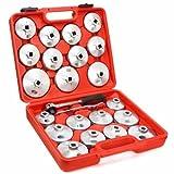 TruePower 20-2087 Aluminum Oil Filter Wrench (23 Piece), 1 Pack
