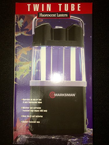 Marksman Twin Tube Fluorescent Lantern For Outdoor Use