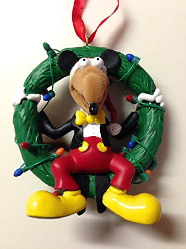 Disney Parks Muppets Rizzo the Rat as Mickey Mouse Wreath Ornament NEW